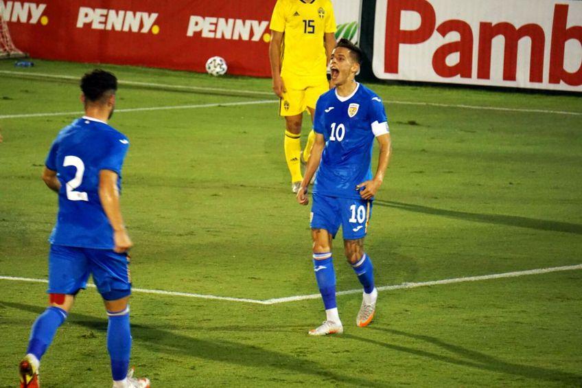 România U21 - Suedia U20 / Sursă foto: frf.ro