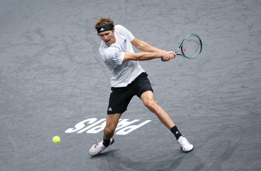 Alexander Zverev (23 de ani, 7 ATP) l-a învins pe Rafael Nadal (32 de ani, 2 ATP), scor 6-4, 7-5, în semifinalele turneului indoor de la Paris.