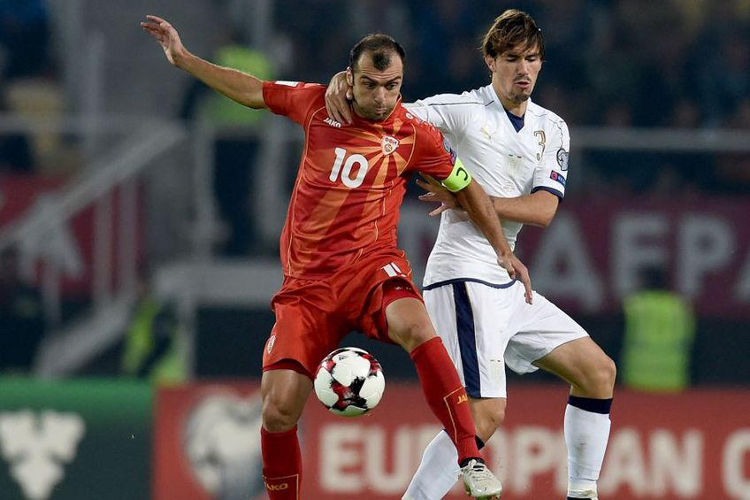 Pandev e vedeta naționalei Macedoniei. foto: Guliver/Getty Images