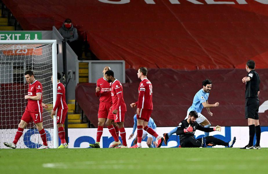 Liverpool a pierdut derby-ul cu Manchester City, scor 1-4 FOTO IMAGO
