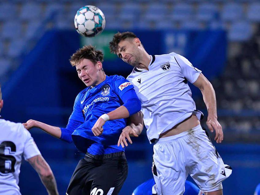 FC Voluntari a învins-o pe Viitorul, scor 1-0, în runda cu numărul 22 din Liga 1.