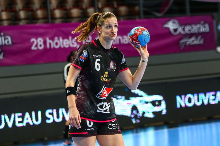 Ana Gros, golgeterul Ligii Campionilor FOTO Brest Bretagne