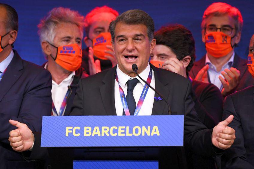 Joan Laporta, președinte Barcelona // foto: Guliver/gettyimages