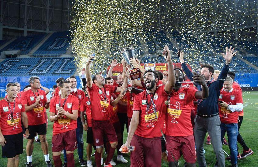 CFR Cluj, campioana României în sezonul 2018/19
