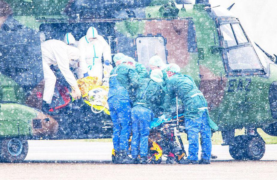 Germania a preluat un număr de pacienți din Italia și Franța, foto: Guliver/gettyimages