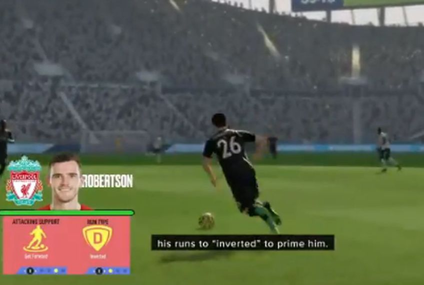 Cardul lui Andy Robertson din FIFA 20 a primit o îmbunătățire // sursă foto: captură Twitter @brfootball