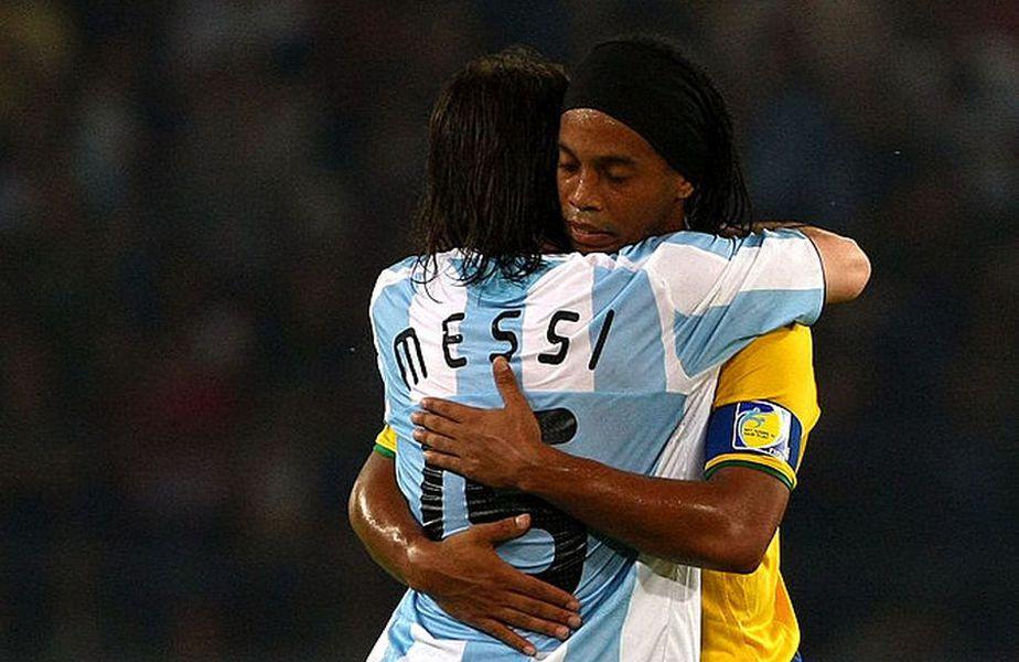 Presa argentiniană susține că Ronaldinho a fost eliberat din închisoarea paraguayană cu ajutorul banilor plătiți de cineva de la Barcelona. Acel cineva ar fi Lionel Messi! Foto: Guliver/GettyImaes