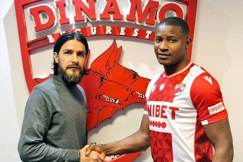 Akpala a fost transferat pentru a rezolva problemele din ofensiva lui Dinamo