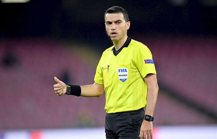 Ovidiu Hațegan este arbitrul nr. 1 al României