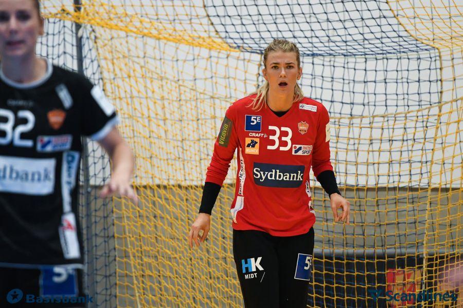 Tess Wester în tricoul celor de la Odense
