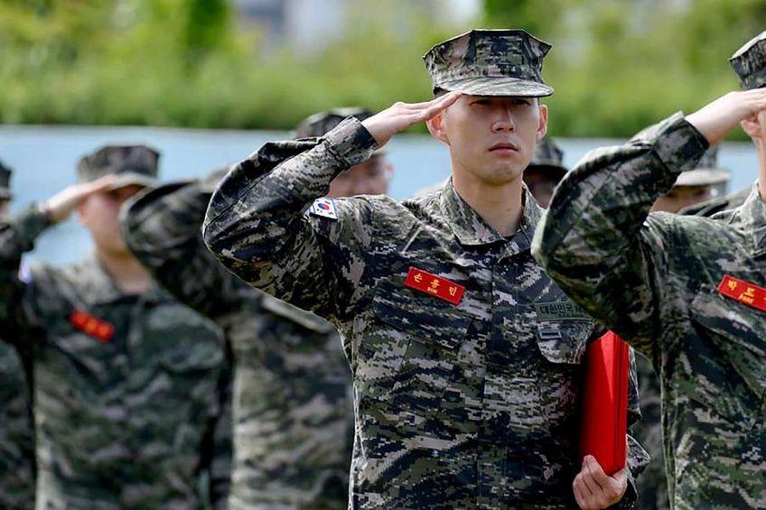 Son Heung-min / Sursă foto: Marine Corps' Facebook