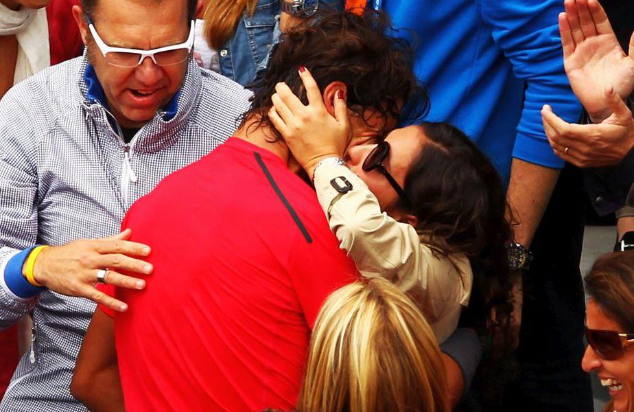 Rafael Nadal și Maria Francisca Perello, femeia cu care s-a căsătorit în 2019. foto: Guliver/Getty Images