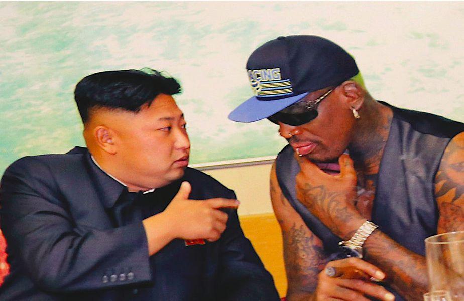 Dennis Rodma și Kim Jong-Un