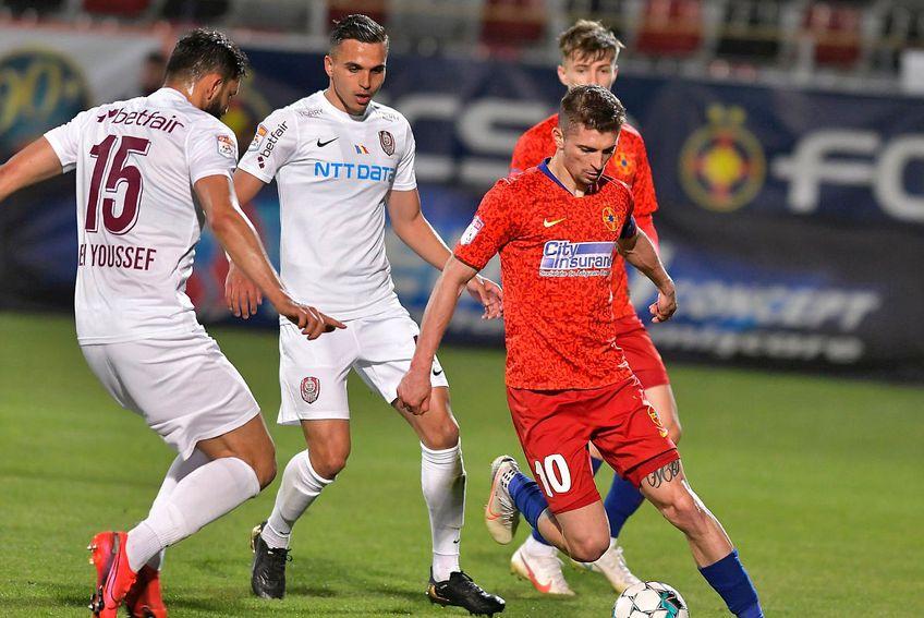 FCSB și CFR Cluj luptă pentru locul 1 în Liga 1 // FOTO: .facebook.com/FCSBOfficial