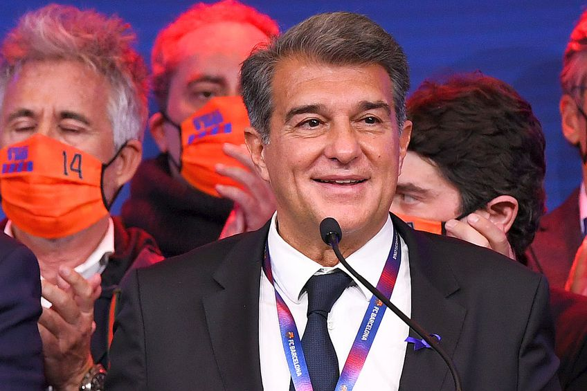 Laporta l-a trimis vicepreședintele Barcelonei la casa lui Dembele  // FOTO: Guliver/GettyImages