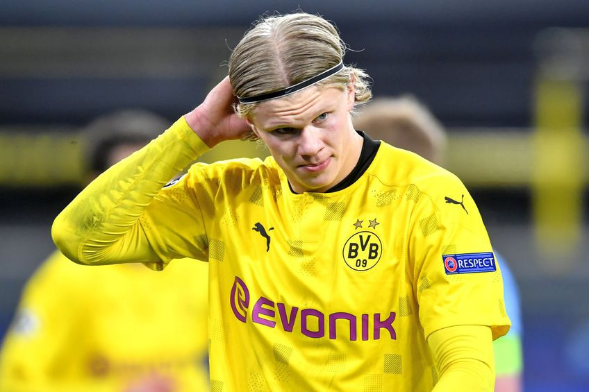 Real îl vrea cu ardoare pe Erling Haaland. foto: Guliver/Getty Images