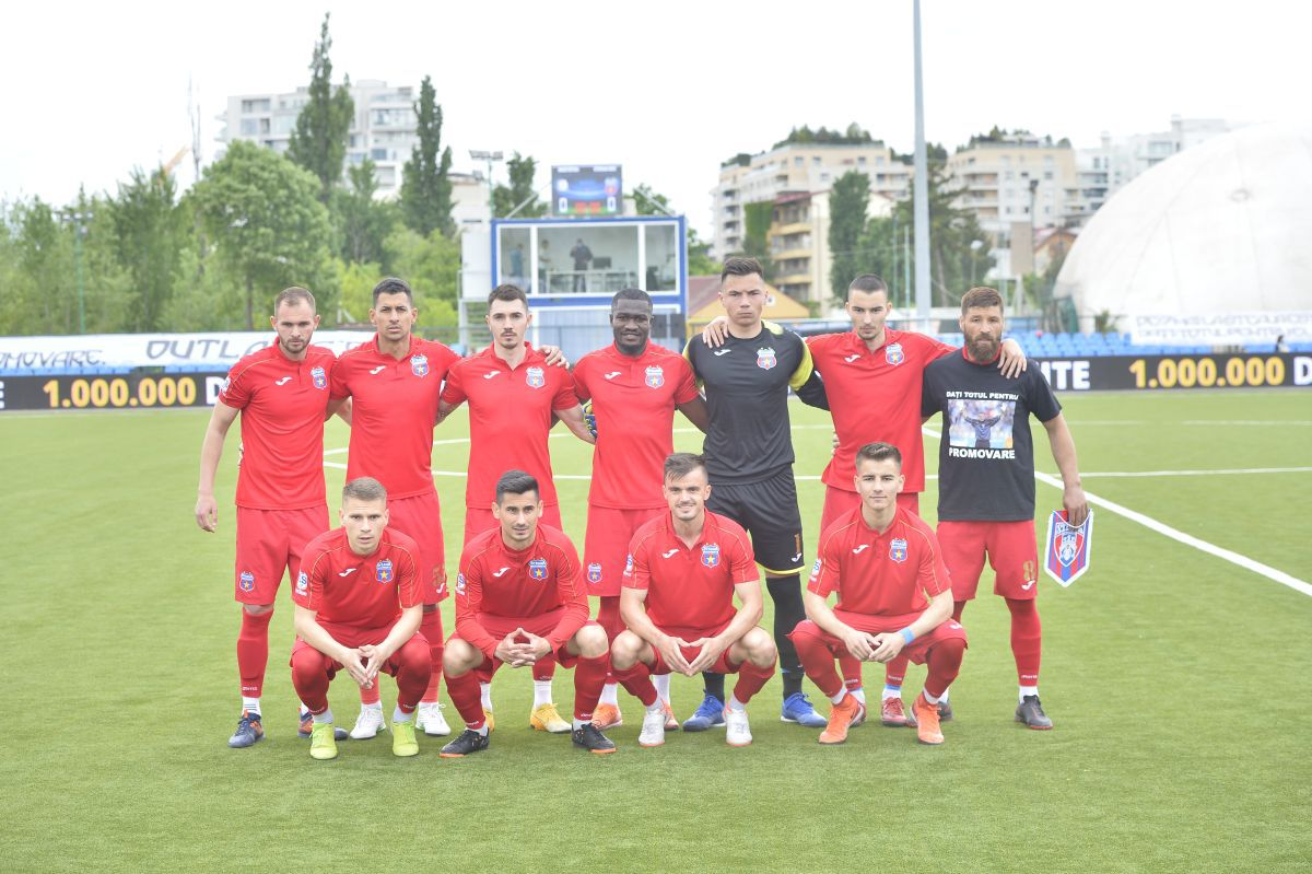 ACS MOSTIȘTEA ULMU - STEAUA 0-2 / manșa tur / baraj promovare Liga 2