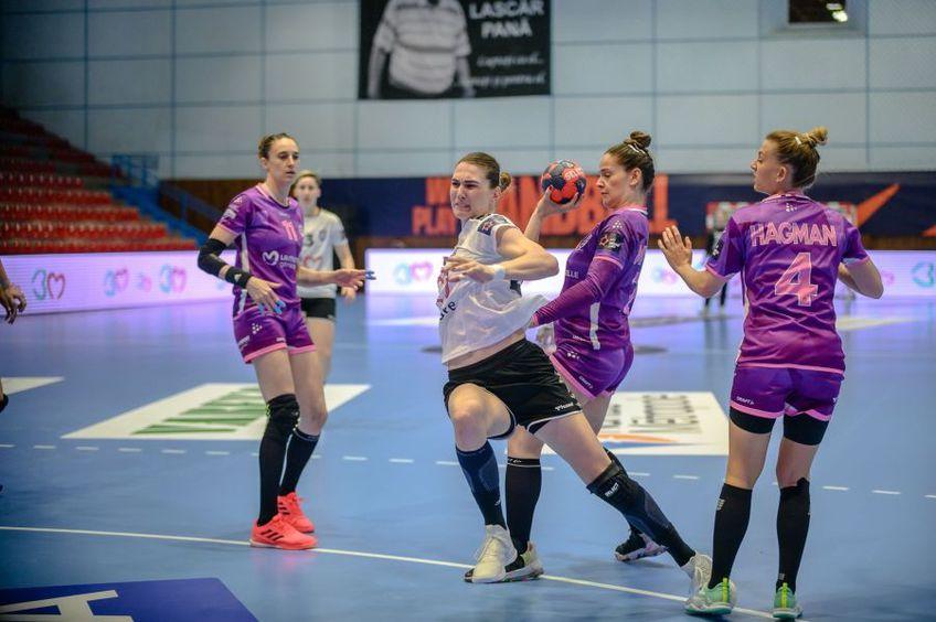 Jovana Kovacevici a făcut cu Nantes cel mai slab meci de când joacă la Baia Mare FOTO Dan Potor