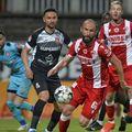Ante Puljic (în prim-plan), în Dinamo - Hermannstadt 2-0