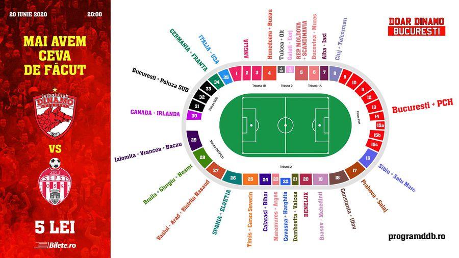 Dinamoviștii duc iubirea pentru club la următorul nivel! Dacă le iese, promit să mute echipa pe Arena Națională