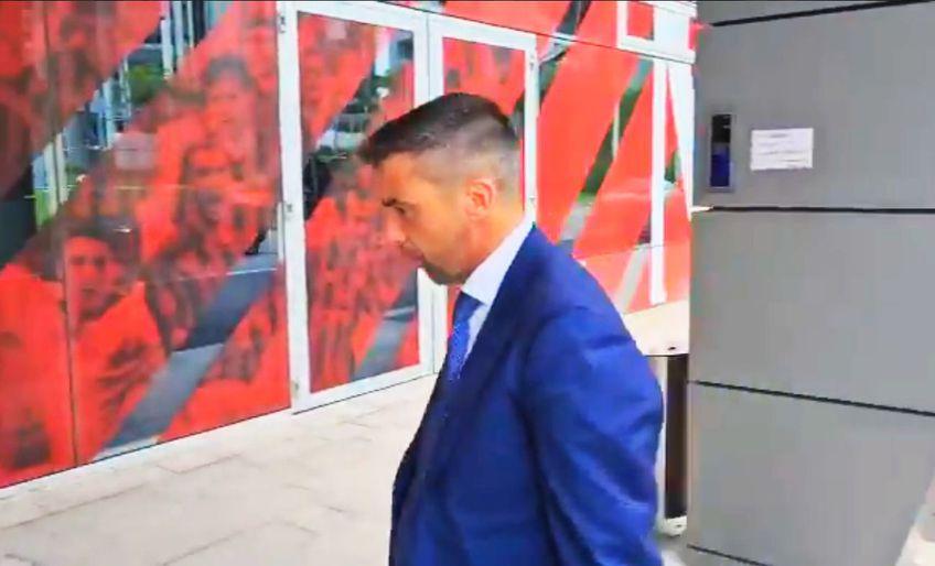 Impresarul Pietro Chiodi a fost surprins marți după-amiază la sediul clubului AC Milan.