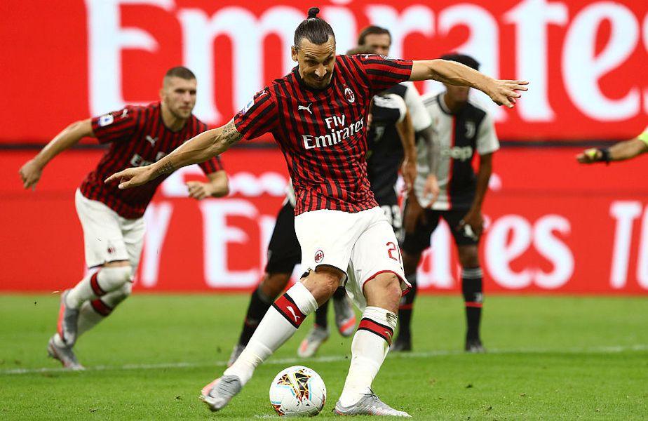 Zlatan a marcat un gol contra lui Juventus // FOTO: Guliver/GettyImages