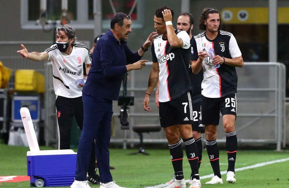 Juventus a pierdut cu AC Milan, scor 2-4 // Sursă foto: Getty
