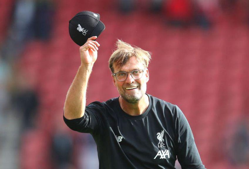 Jurgen Klopp i-a dăruit lui Liverpool primul titlu după trei decenii // Sursă foto: Getty