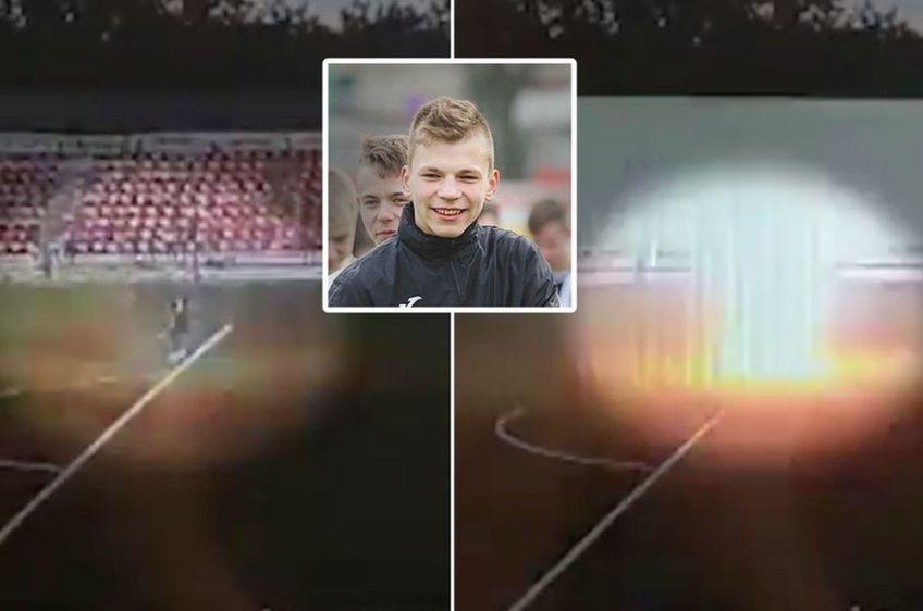 Ivan Zaborovski a fost fulgerat din senin în timpul antrenamentului