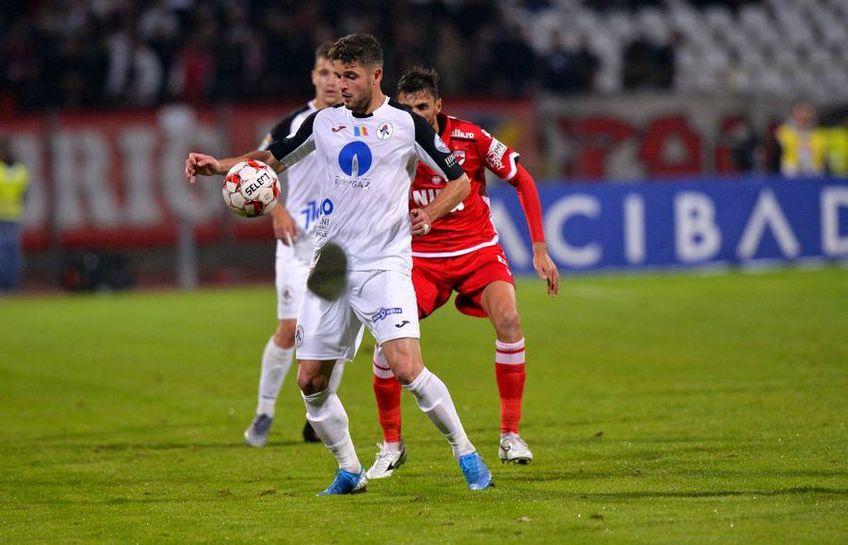 Sergiu Buș, în Dinamo - Gaz Metan