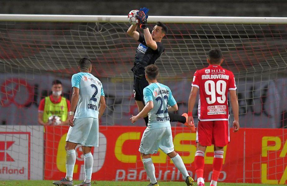 Andrei Vlad a fost tituar în meciul tur cu Dinamo. Azi nu e nici pe bancă