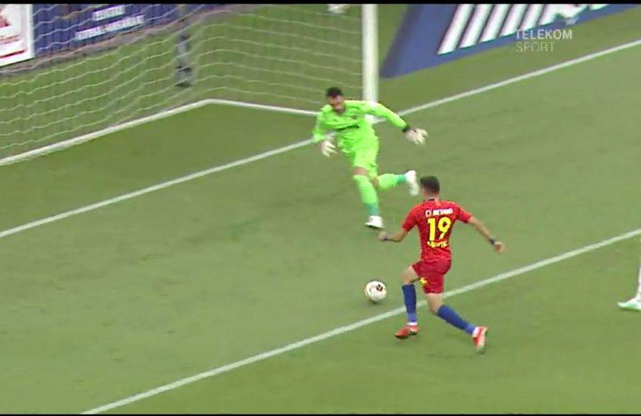 Adi Petre, gol după 83 de secunde în meciul cu Dinamo