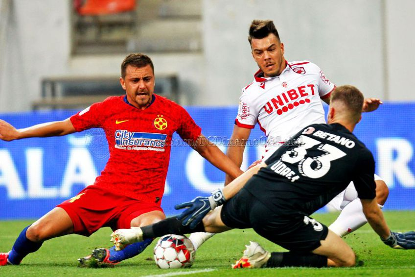 FCSB - Dinamo 1-0. Sursă foto: Instagram.com/FCDinamoOficial