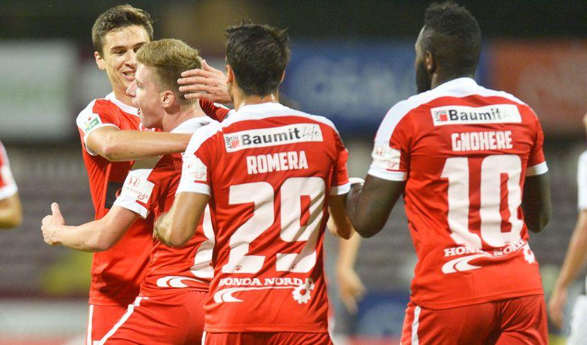 Valentin Lazăr (31 de ani, extremă stânga) a intrat pe lista lui Rapid, nou-promovată în Liga 1.
