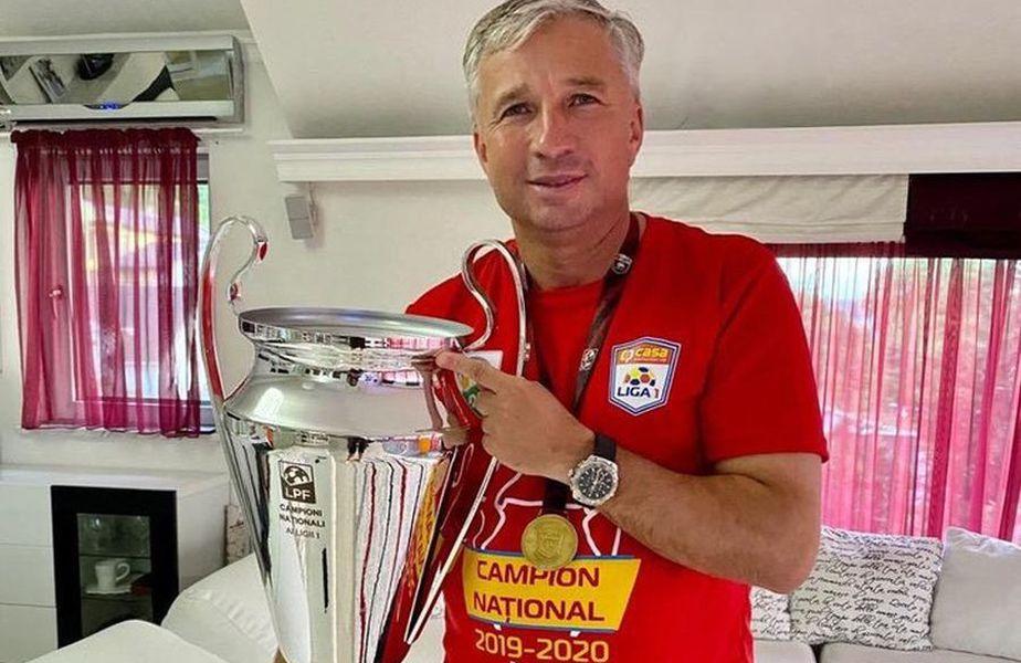 Dan Petrescu a câștigat 3 titluri cu CFR Cluj // Sursă foto: Instagram @cfrclujofficial