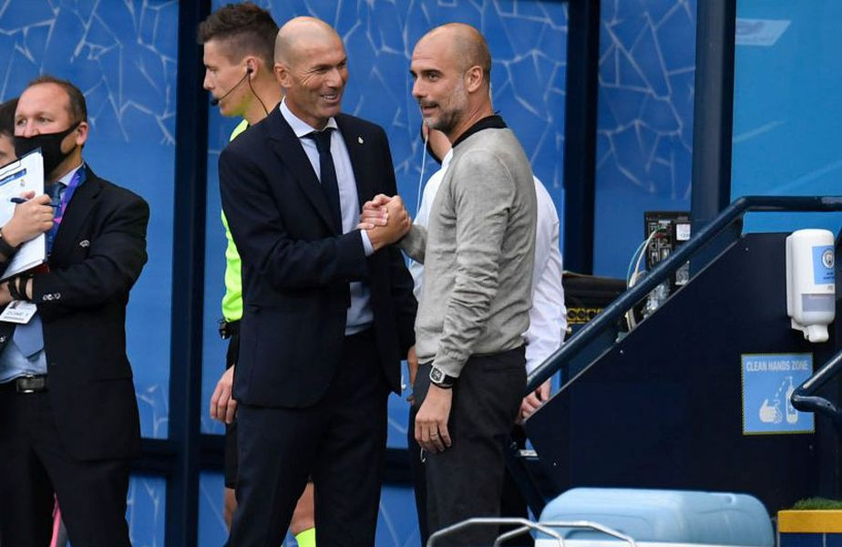 Pep Guardiola și Zinedine Zidane sunt printre cei mai galonați antrenori ai lumii