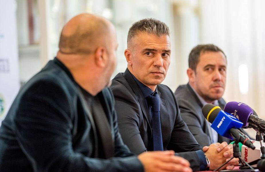 Victor Angelescu, principalul acționar al Rapidului, i-a luat partea lui Daniel Pancu în conflictul cu Florin Manea.