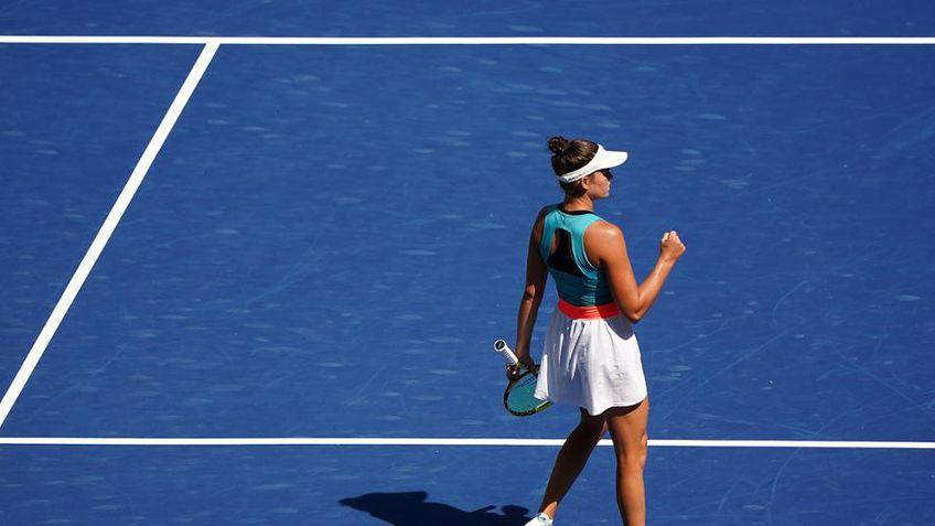 Americanca Jennifer Brady (25 de ani, 41 WTA) a învins-o pe kazaha Yulia Putintseva (25 de ani, 35 WTA), scor 6-3, 6-2, și este prima semifinalistă de la US Open 2020.