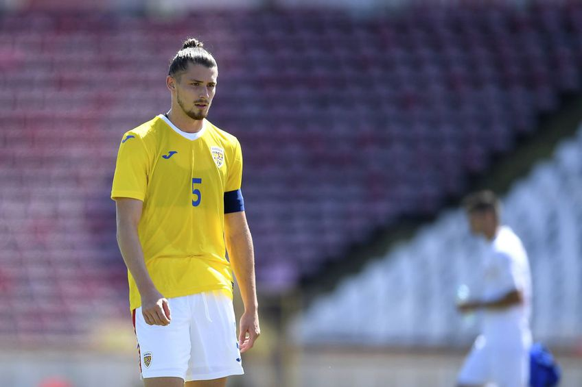 Radu Drăgușin, la echipa națională U21 // foto: Imago