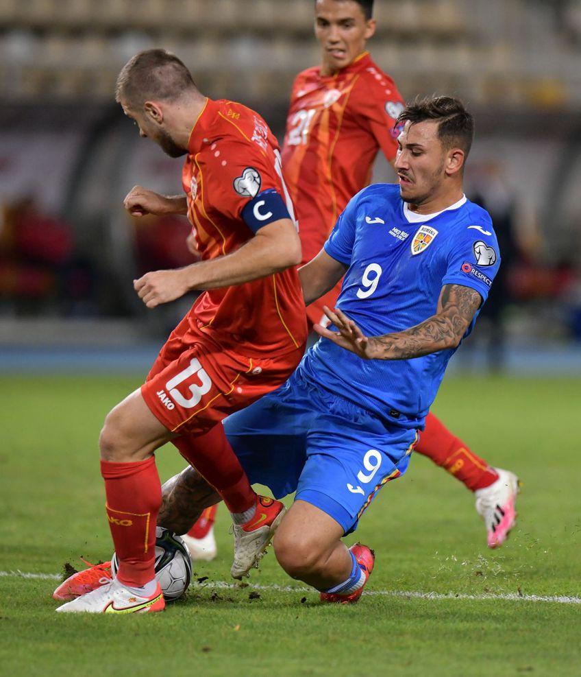 "Jovan Markovic a fost unul dintre cei mai slabi ""tricolori"" // FOTO: Cristi Preda"