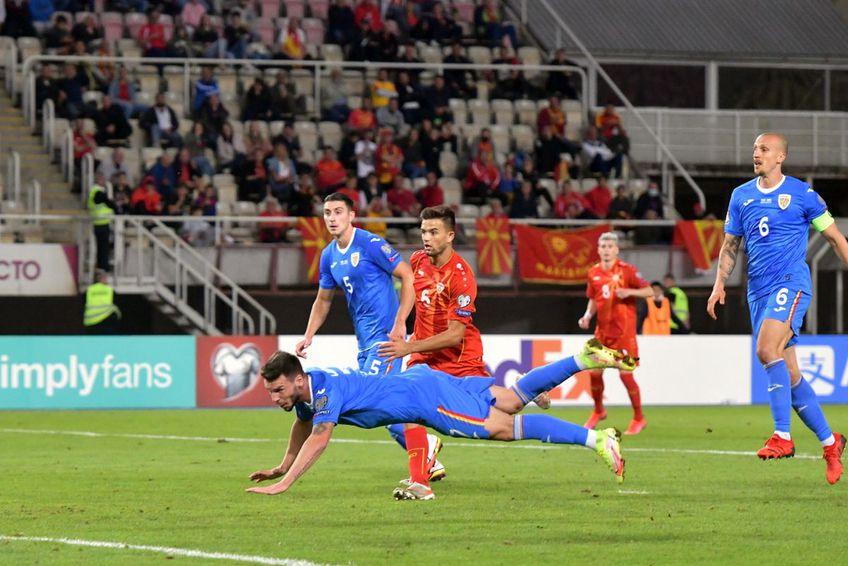 Macedonia de Nord - România 0-0 / Sursă foto: Cristi Preda (GSP)