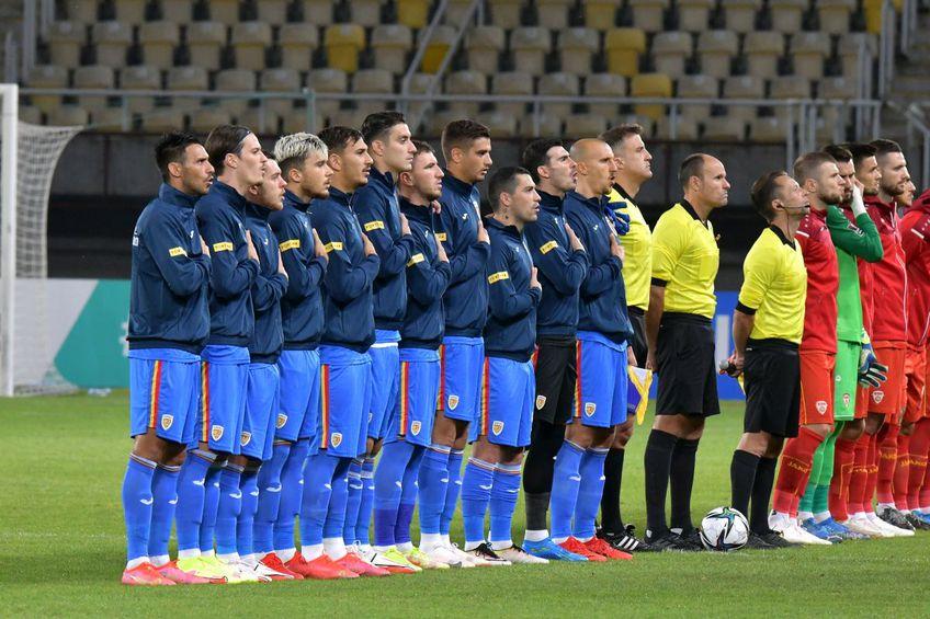 România a remizat la Skopje, scor 0-0 / foto: Cristi Preda