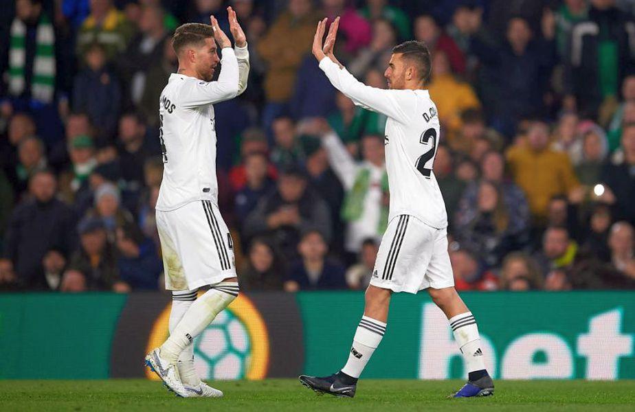 Dani Ceballos și Sergio Ramos