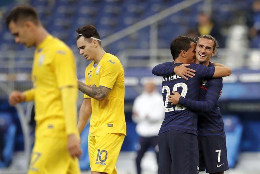 Franța a învins Ucraina cu 7-1 // foto: Reuters