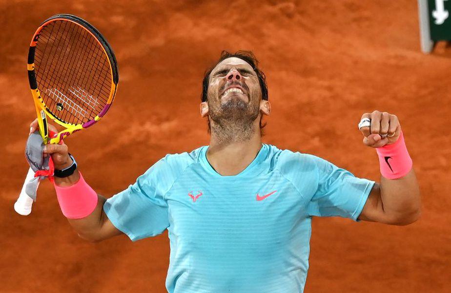 Rafa Nadal s-a calificat în a 13-a sa semifinală la Roland Garros // foto: Guliver/gettyimages