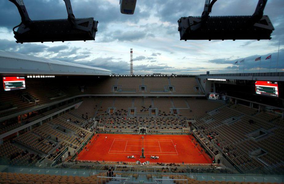 Nori negri la Roland Garros. Foto: Reuters