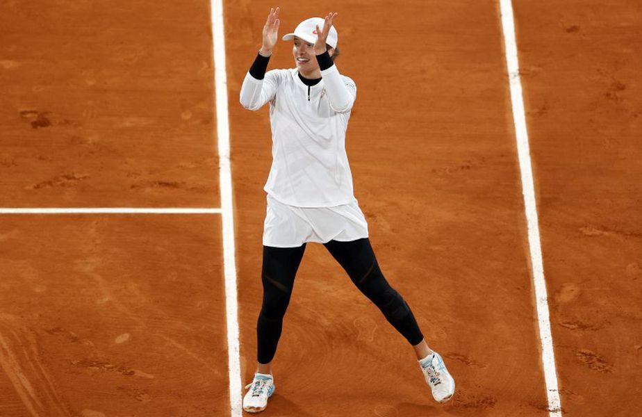 Iga Swiatek, la Roland Garros // foto: Guliver/gettyimages