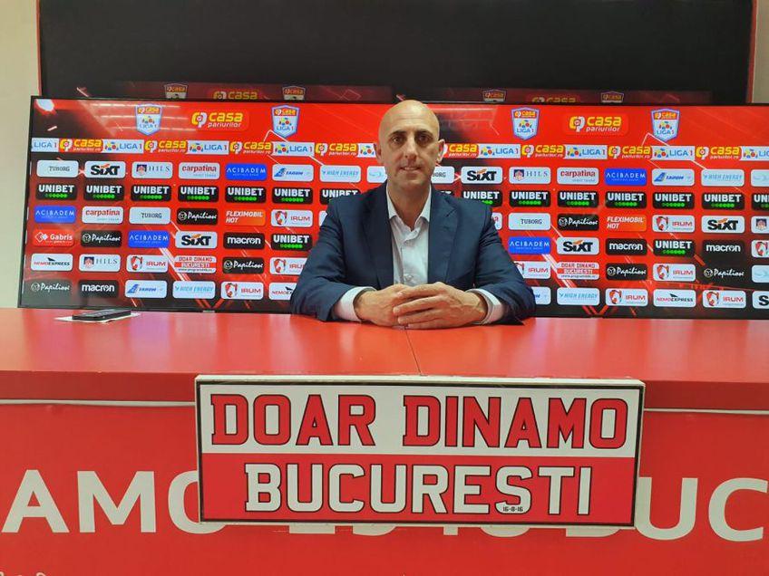 """Rufo Collado a avut astăzi o zi deschisă pentru media din România, dorind să ofere primele sale declarații complete despre Dinamo și despre campania de transferuri, spectaculoasă, a """"câinilor""""."""