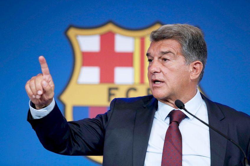 Joan Laporta, președinte FC Barcelona // foto: Imago