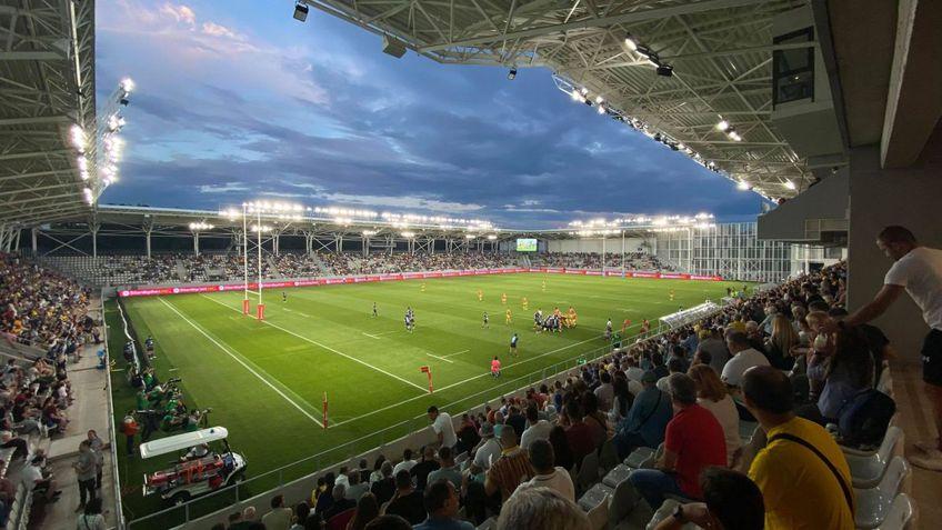 """Stadionul """"Arcul de Triumf"""" va organiza Finalele SuperLigii Naționale de Rugby."""